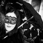 Ragazza con maschera   Girl with mask