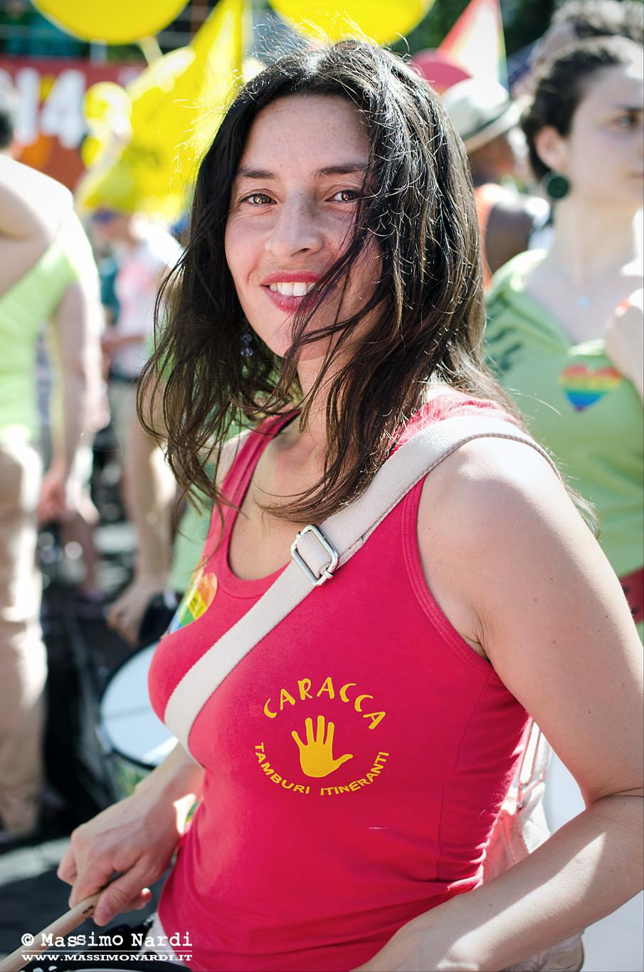 """Dal reportage """"Roma Pride""""   From reportage """"Roma Pride"""""""